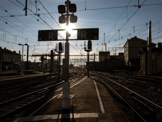 French train strikes aim to disrupt travel, test Macron