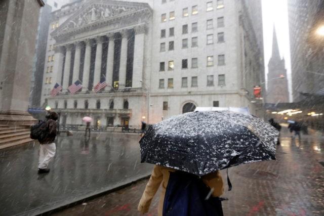 US stocks sink on trade concerns; China pork duty hits Tyson