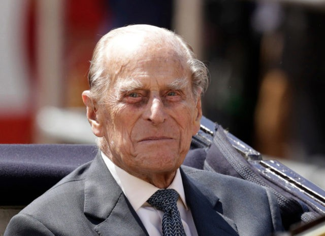 Britain's Prince Philip, 96, enters hospital for hip surgery