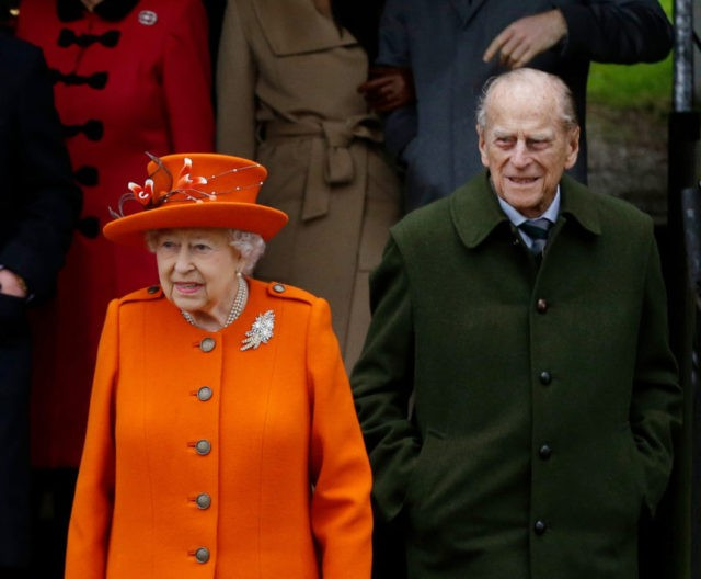 Britain's Prince Philip enters hospital for hip surgery