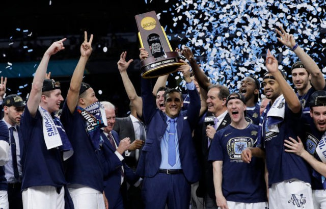 Villanova's Wright in select company with 2nd NCAA title