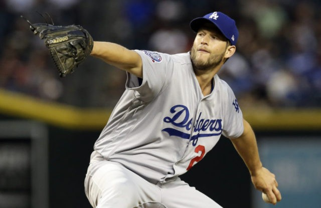 Kershaw gives up 2 HRs to lefties, Dbacks beat Dodgers 6-1