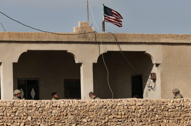 White House says Syria mission coming to 'a rapid end'
