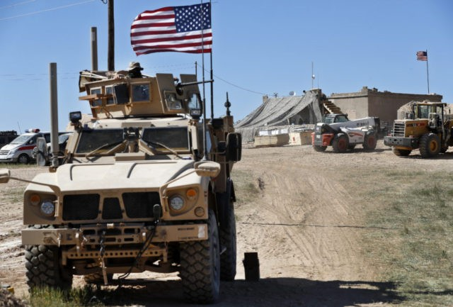US forces in Syria seen setting up new front-line positions