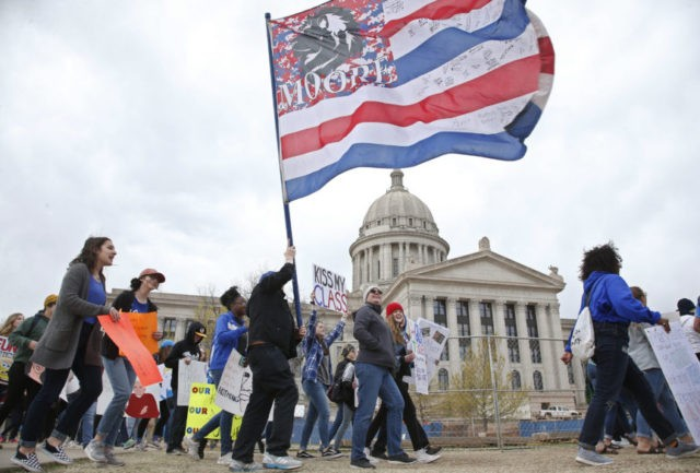 Oklahoma GOP leaders scramble to end teacher strike