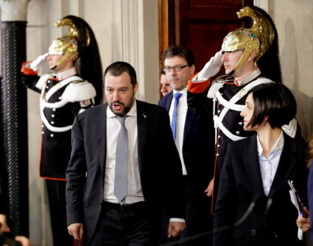 League chief says center-right bloc should govern Italy