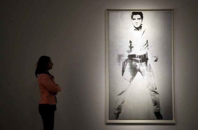 Warhol's Elvis portrait could fetch $30M at Christie's sale