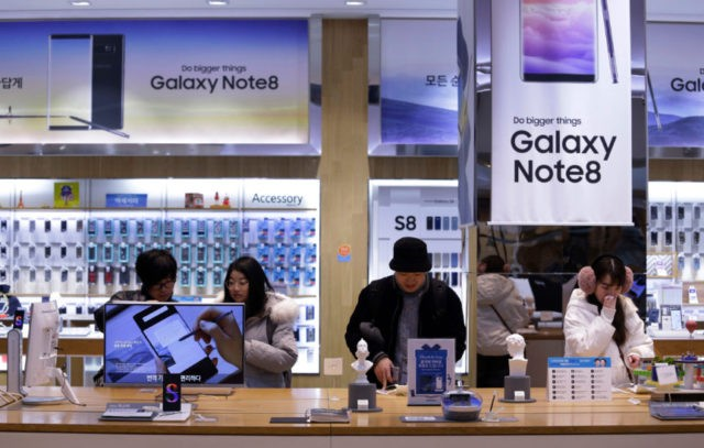 Samsung Electronics estimates 56 percent jump in profit