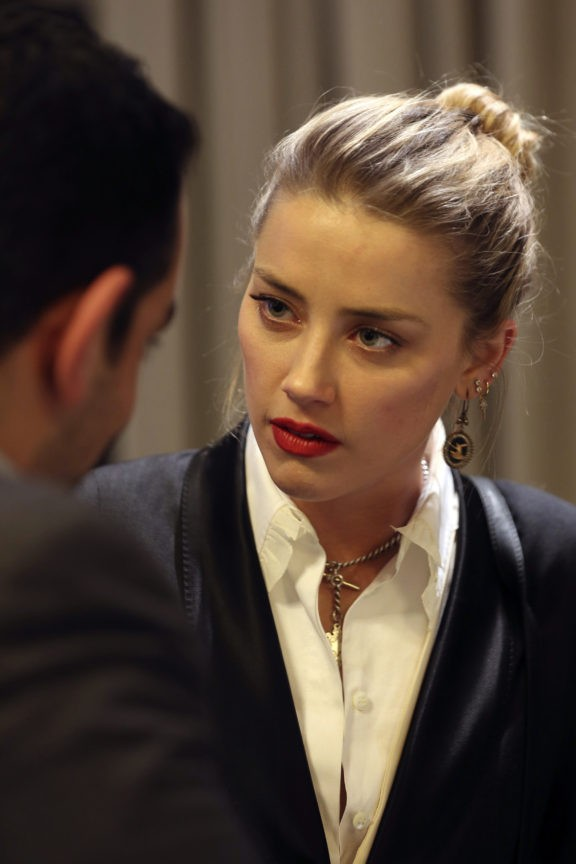 Amber Heard says meeting Syria refugees left indelible mark
