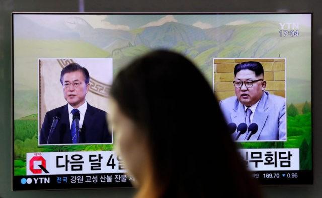 Koreas holds preparatory talks to set up Kim-Moon summit