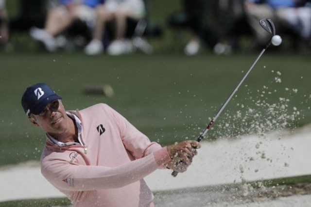 The Latest: Couples likely to make Masters cut for 30th time