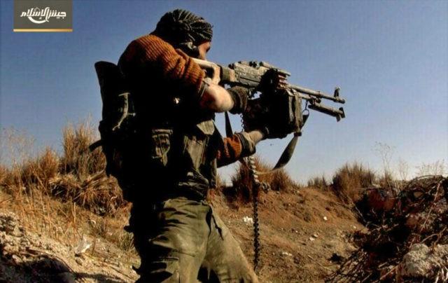 Violence breaks out near Syrian capital killing dozens