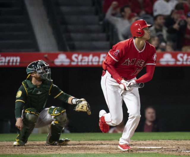 Ohtani homers 3rd game in a row, Angels rally past A's 13-9