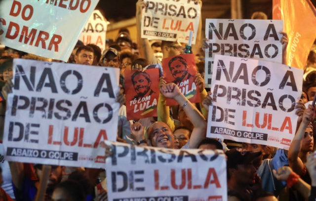 Arrest looming, Brazil's ex-President 'Lula' hunkers down