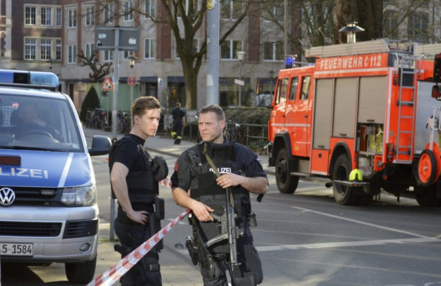 The Latest: German police search home of deadly van driver