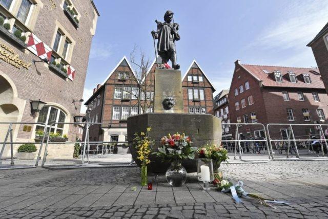 The Latest: Muenster van driver well known to German police