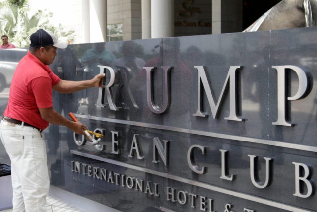 Trump family hotel business asked Panama president for help