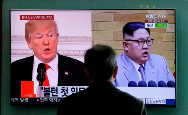 The Latest: Trump expects NKorea meeting in May or June