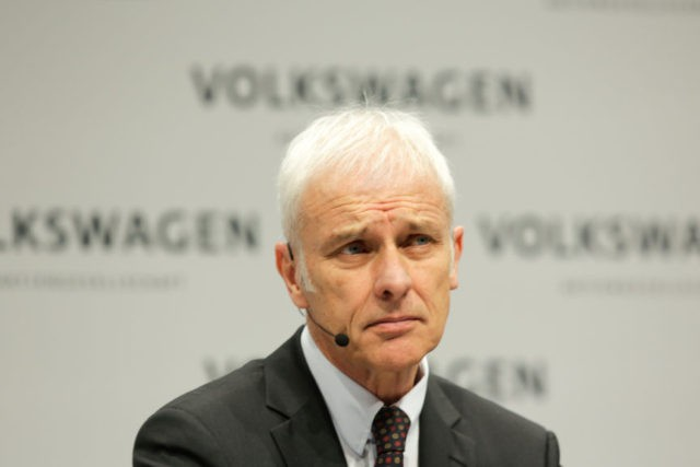 Volkswagen says it's looking at changing CEO in reshuffle