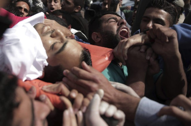 The Latest: US aided slain Gaza reporter's media firm