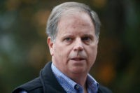 Democrat Doug Jones: 'What a Stupid Question' to Query on Abortion Vote