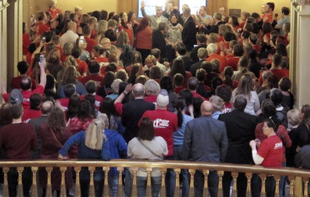 Kansas officials find $80M error in school funding measure