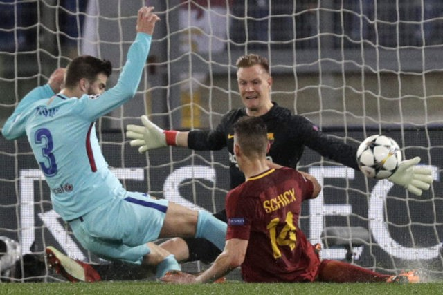 Roma knock Barcelona out of CL with remarkable comeback