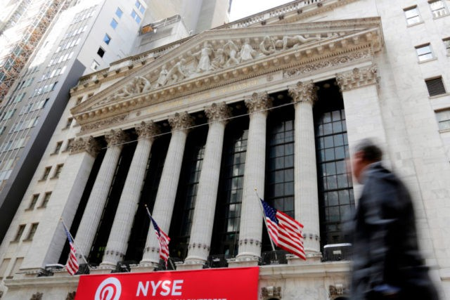 Banks and technology stocks fall; oil rises to 3-year high