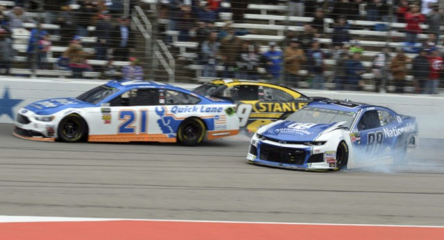 Paul Menard, Chase Elliott, Alex Bowman,
