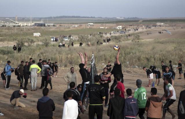 Palestinians say man killed along Gaza border with Israel