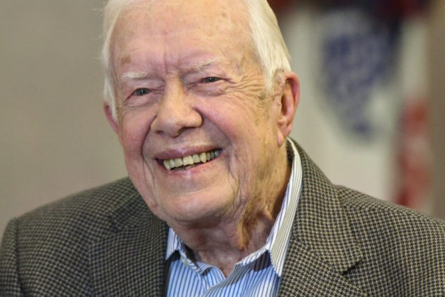 Jimmy Carter's new milestone: Longest-lived U.S. president