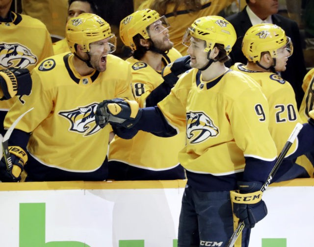 Filip Forsberg, Mike Fisher