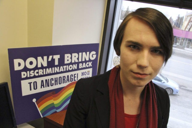 Anchorage voters set to be 1st in US to reject bathroom bill