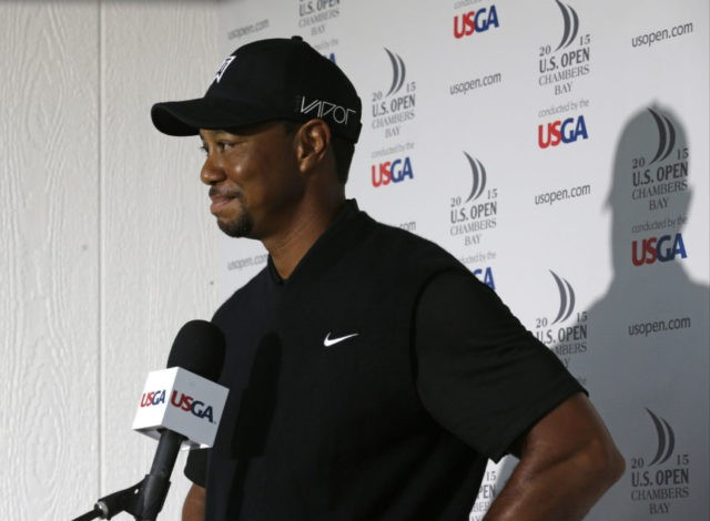 Woods files entry to play US Open for 1st time since 2015