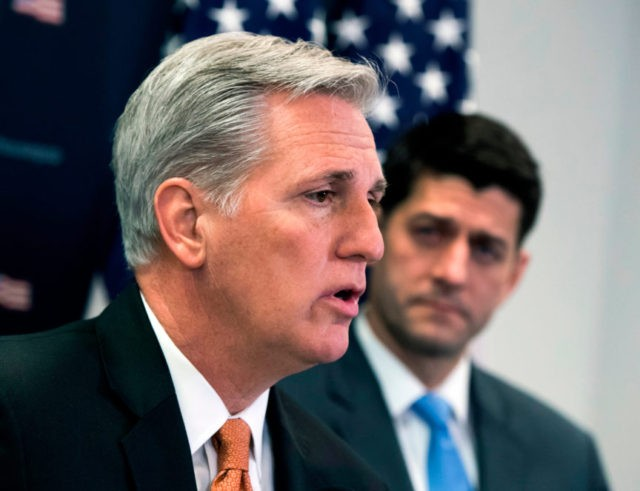 Paul Ryan endorses Kevin McCarthy as his successor for speaker
