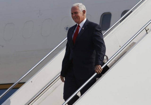 Pence to outline Syrian missile strike at Latin summit