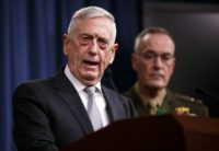 Defense Secretary Jim Mattis: Diplomats Still at Work on the North Korea Summit