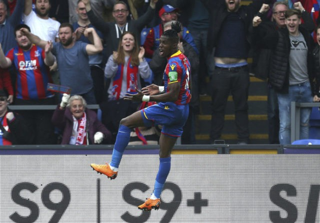 Palace, Huddersfield lift survival bids; Chelsea fights back