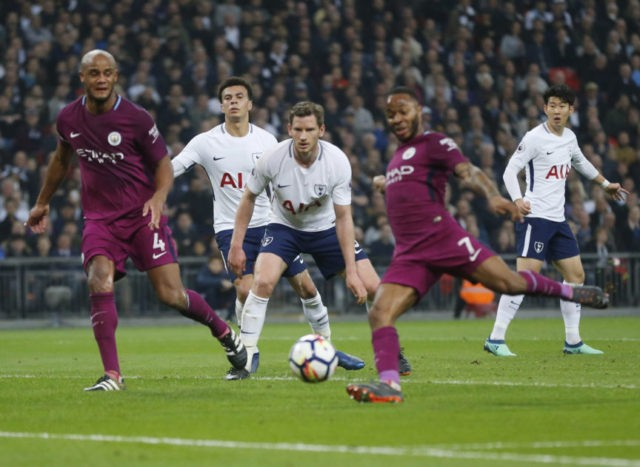 Man City closes in on EPL title by beating Spurs