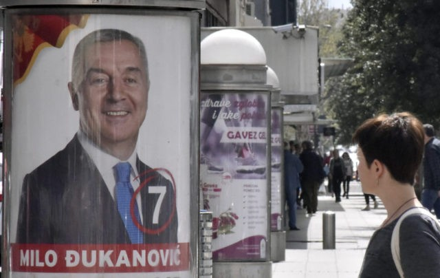 Early results show Djukanovic sweeping Montenegro vote