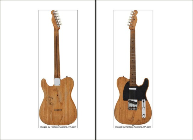 Stevie Ray Vaughan's 1951 Fender fetches $250,000 at auction