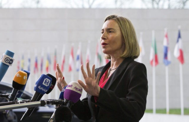 The Latest: NATO chief: Strikes sent clear message to Syria