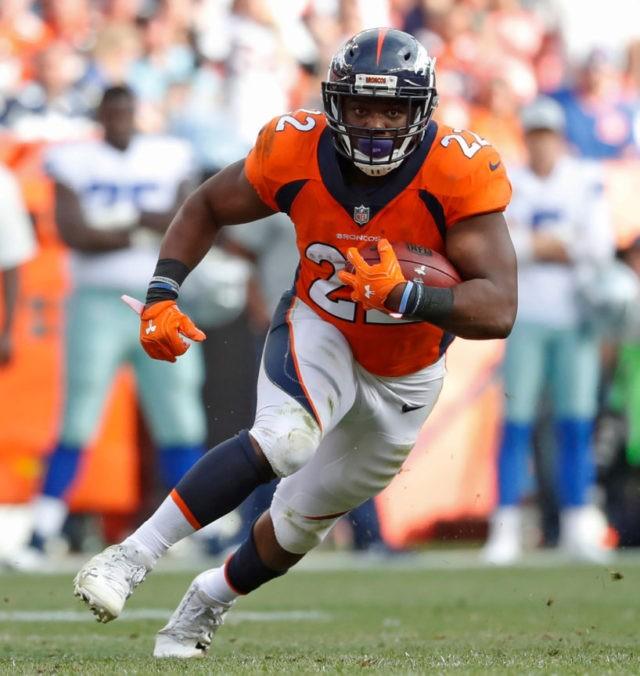 Denver Broncos release running back C.J. Anderson