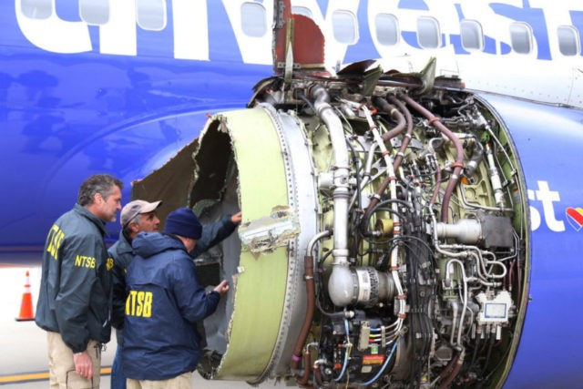 NTSB: Blown Southwest jet engine showed 'metal fatigue'