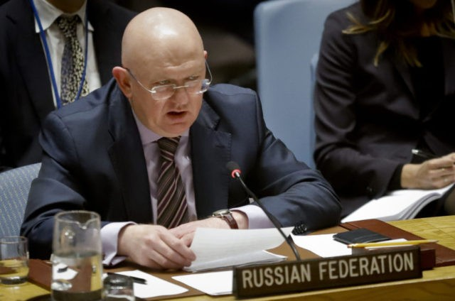 The Latest: Russia opposes Western resolution on Syria at UN