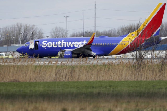 Southwest Airlines plane makes emergency landing in Philly