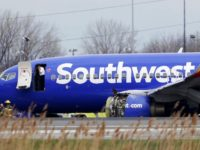 Jet with engine, window damage makes emergency landing