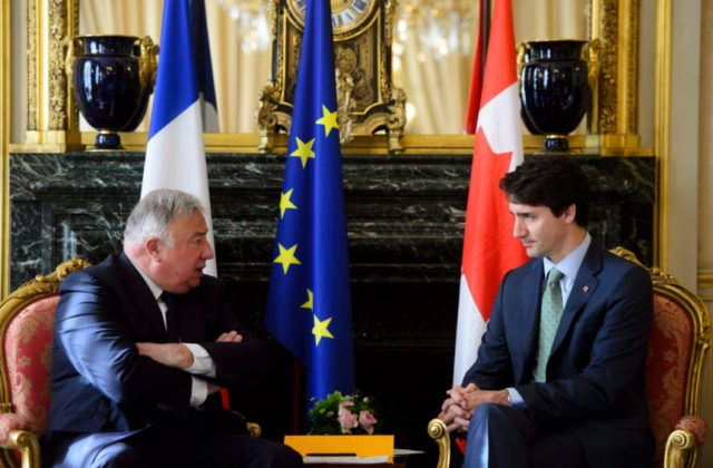 Trudeau first Canadian leader to address French parliament