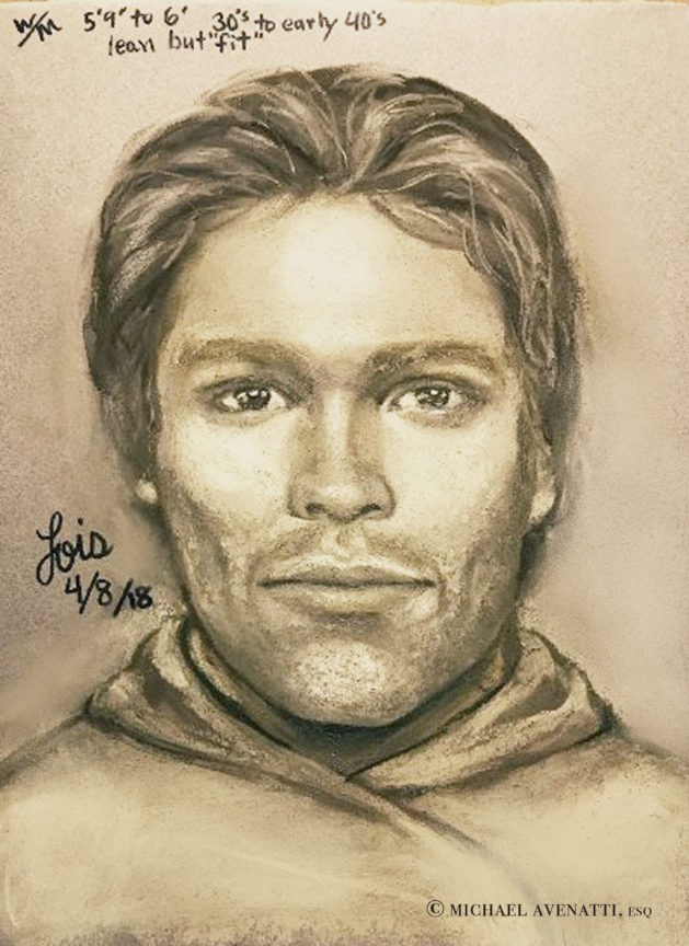 Porn star releases sketch of man she says threatened her