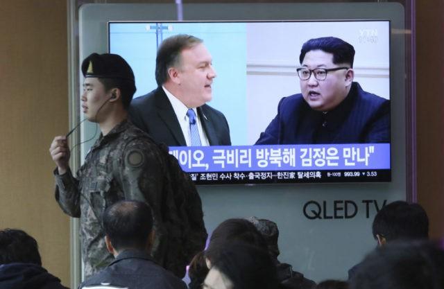 Kim Jong Un. Mike Pompeo